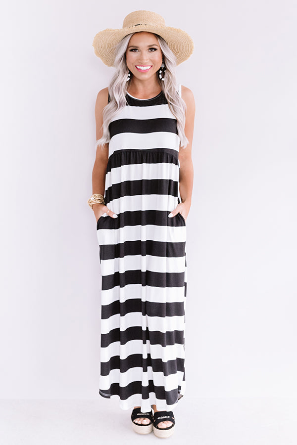 East Coast Weather Stripe Maxi