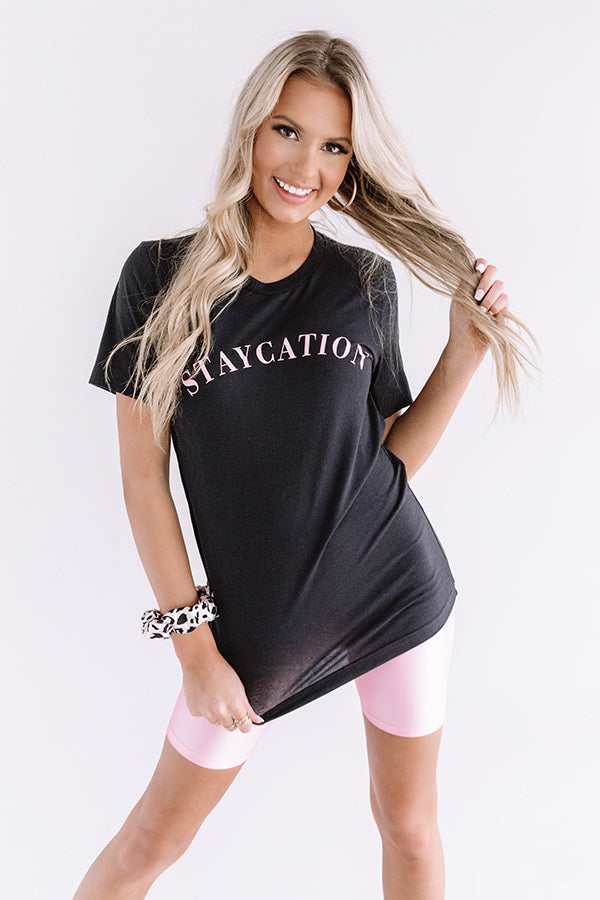 Staycation Shift Tee