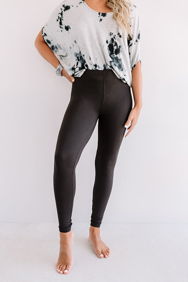 Cabo And Chill Midrise Legging in Black