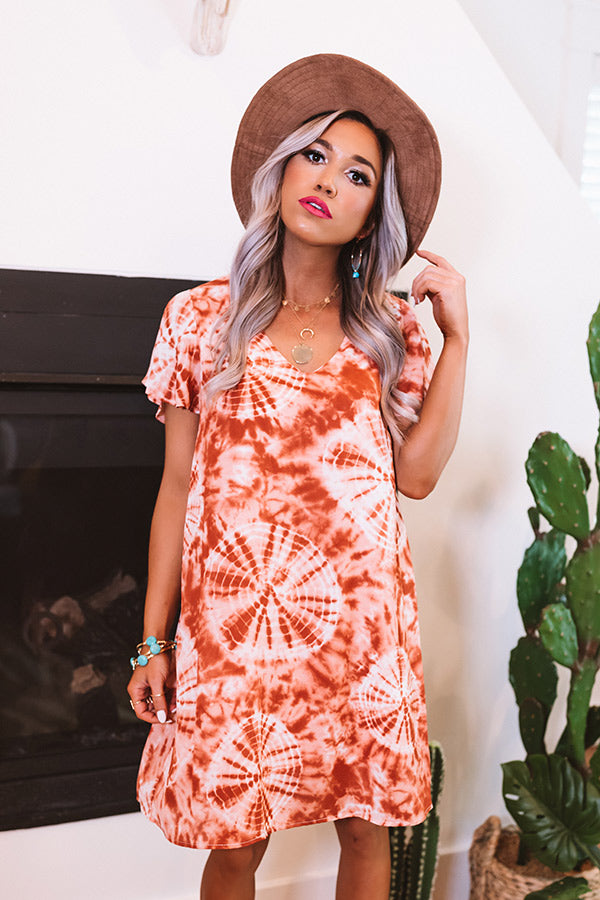Have It All Tie Dye Shift Dress