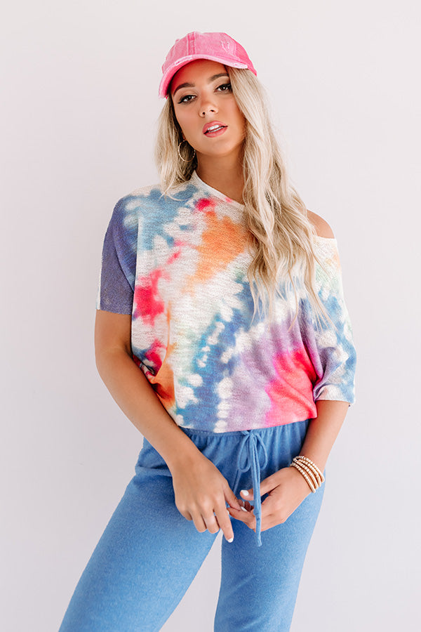 Sunshine Forecast Tie Dye Top