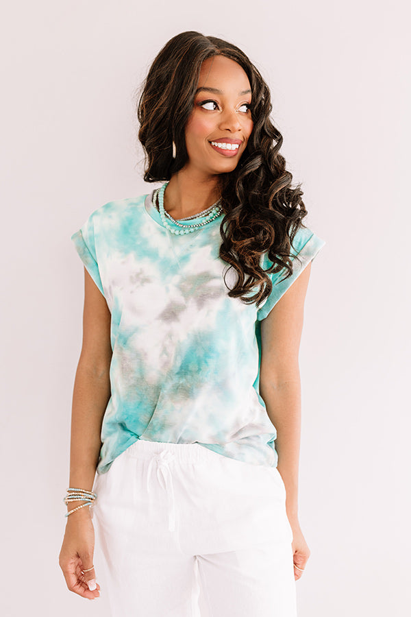 Sweet Tea Summer Tie Dye Top