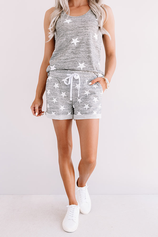 Starcrossed Shorts In Grey