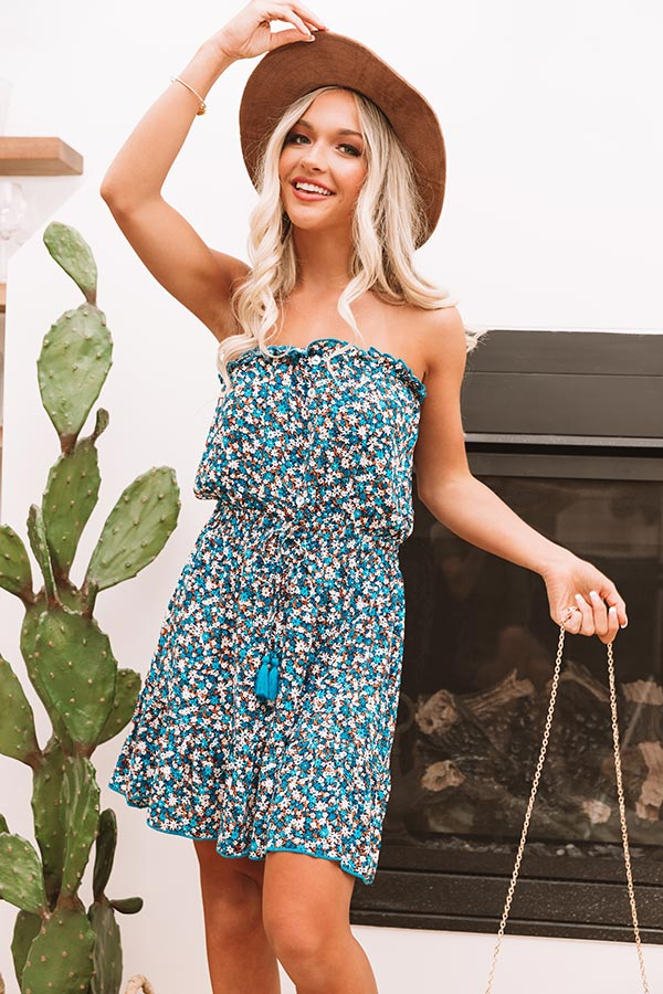 Miramar Beach Floral Dress