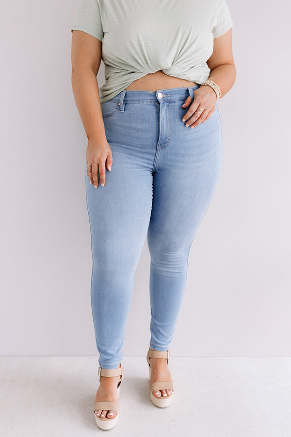The Vega High Waist Ankle Skinny