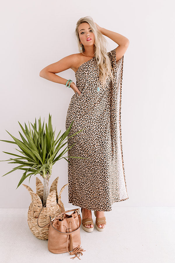 On The Way To Rome Leopard Maxi