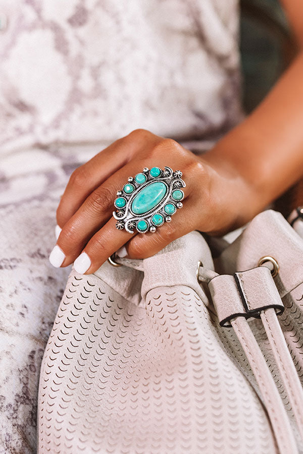 Pretty Prediction Turquoise Ring