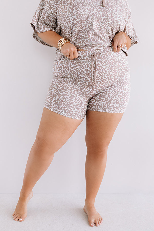 Laid Back Baby Leopard Shorts
