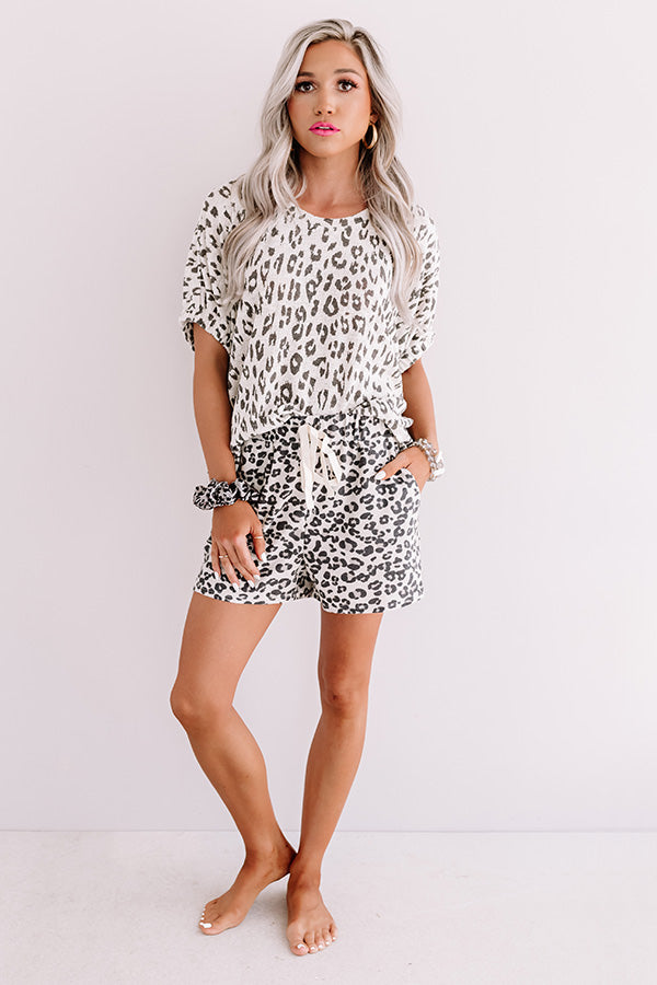 The Best Party Leopard Top