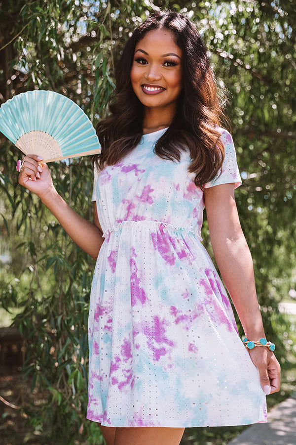 Sunny Destination Tie Dye Dress