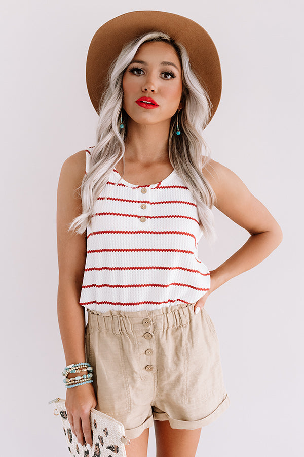 Surely Sweet Stripe Tank