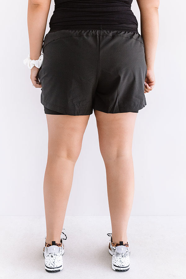 Above And Beyond Shorts In Black