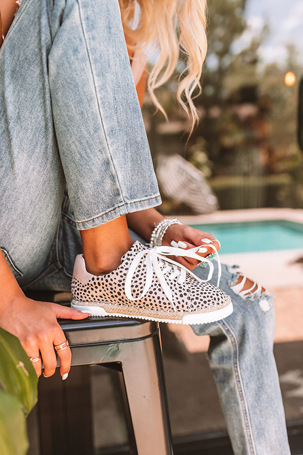The Caterina Cheetah Print Sneaker