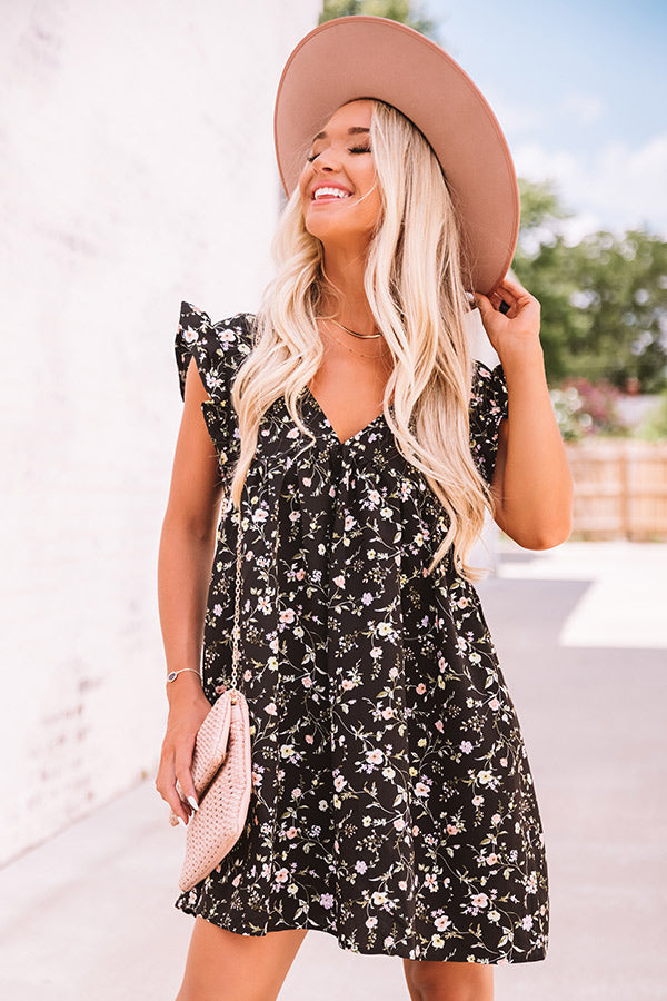 Friendly In Florals Babydoll Romper