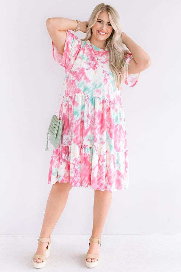 Sweet Fling Tie Dye Dress