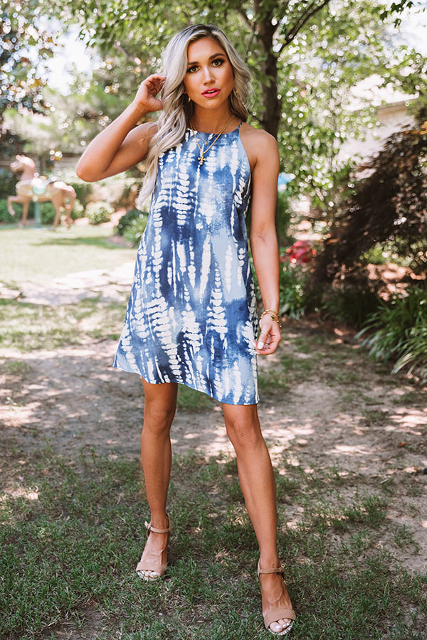 Outdoor Concert Tie Dye Dress