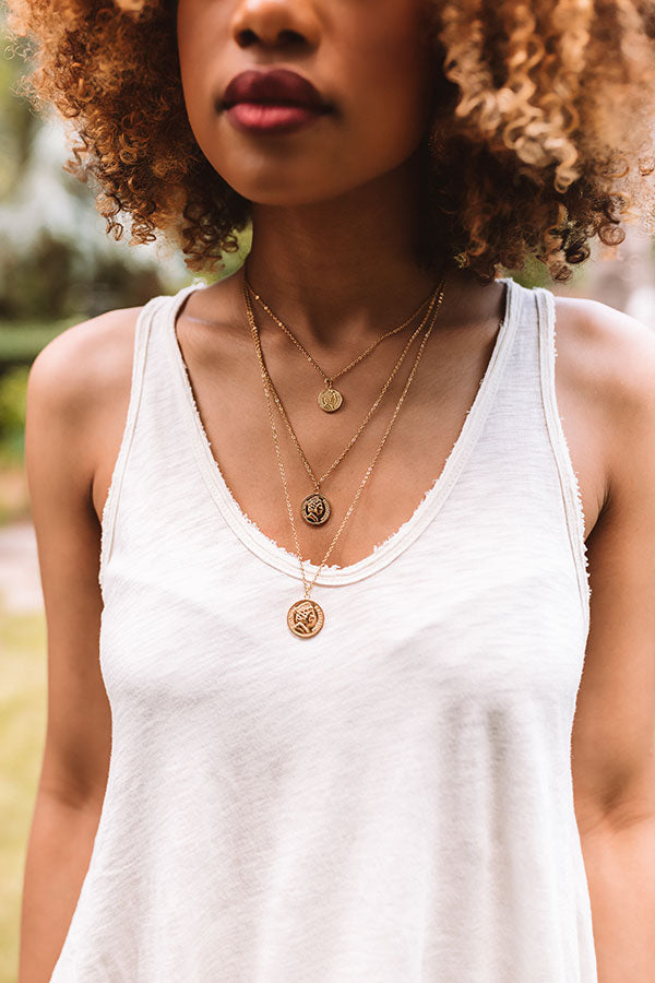 Pesos Layered Necklace