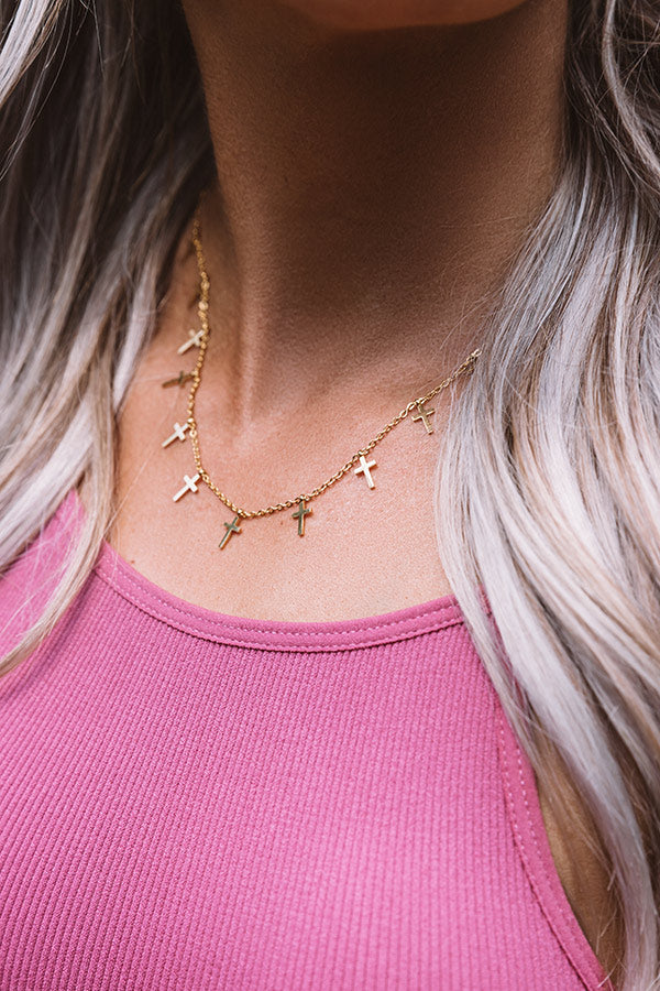 Cruz Dainty Necklace