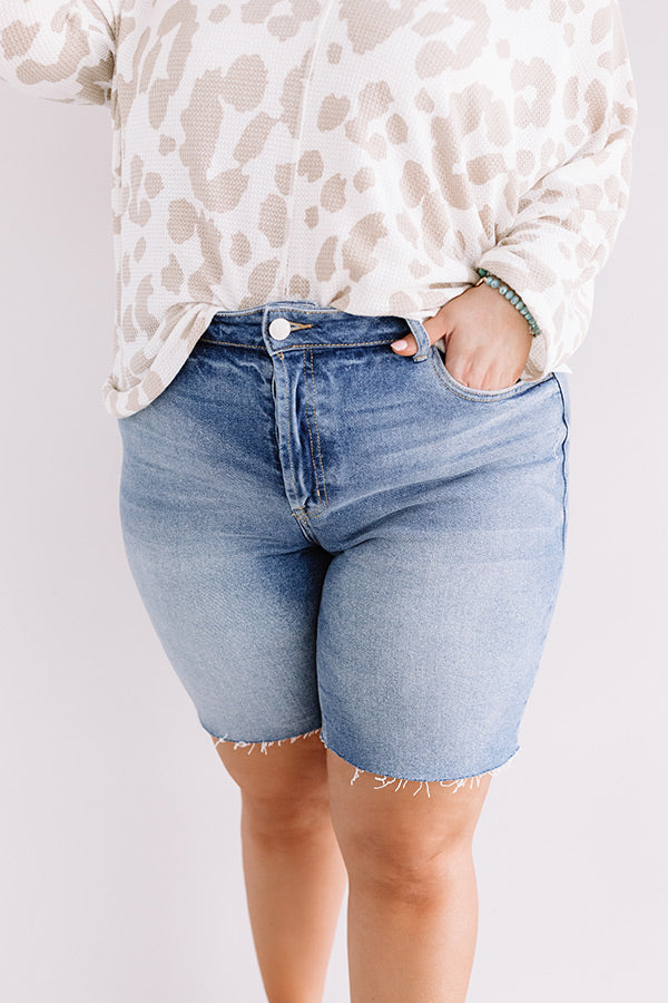 The Warner High Waist Shorts