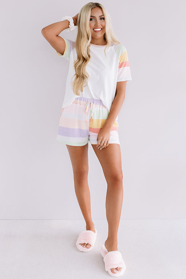 Rainbow Rush Shift Tee