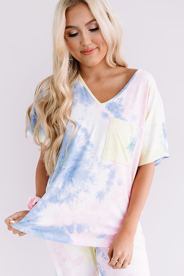 Count On Cozy Tie Dye Tee