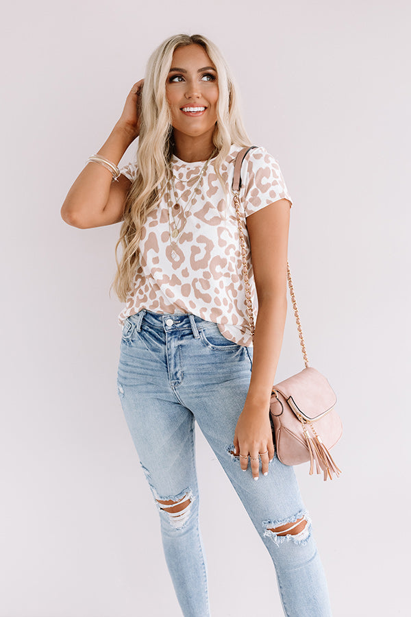 What's Not To Love Leopard Tee