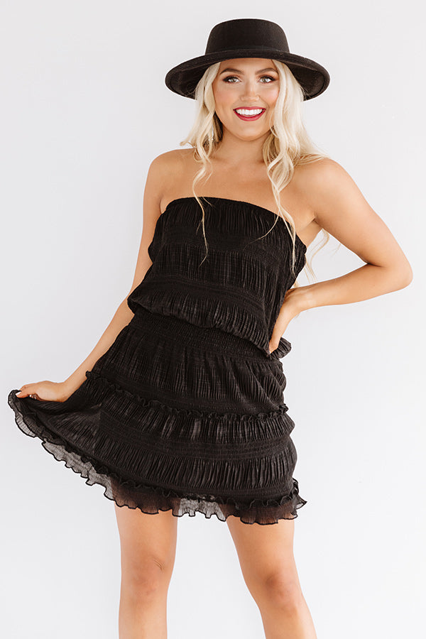 Guard Your Heart Dress In Black