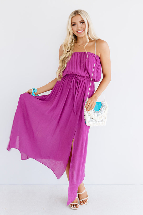 Maui Beach Maxi In Orchid