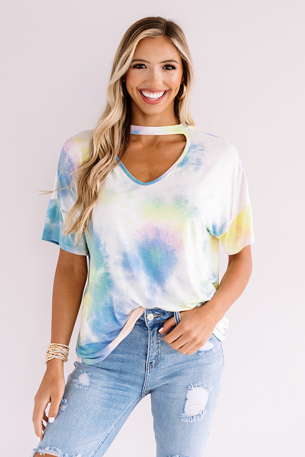 Malibu Roadtrip Tie Dye Shift Tee