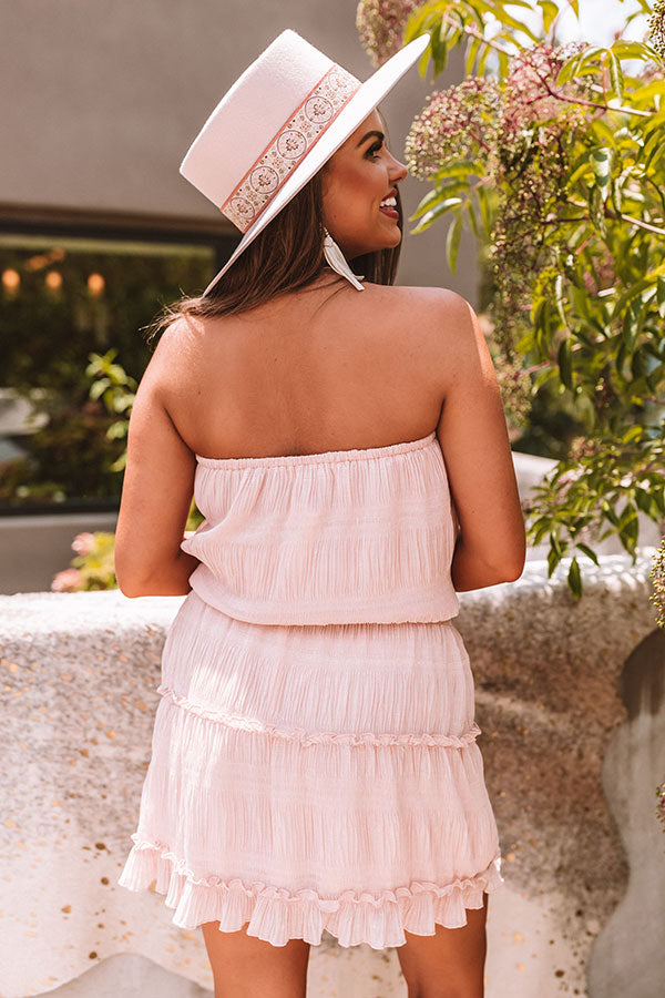 Guard Your Heart Dress In Blush