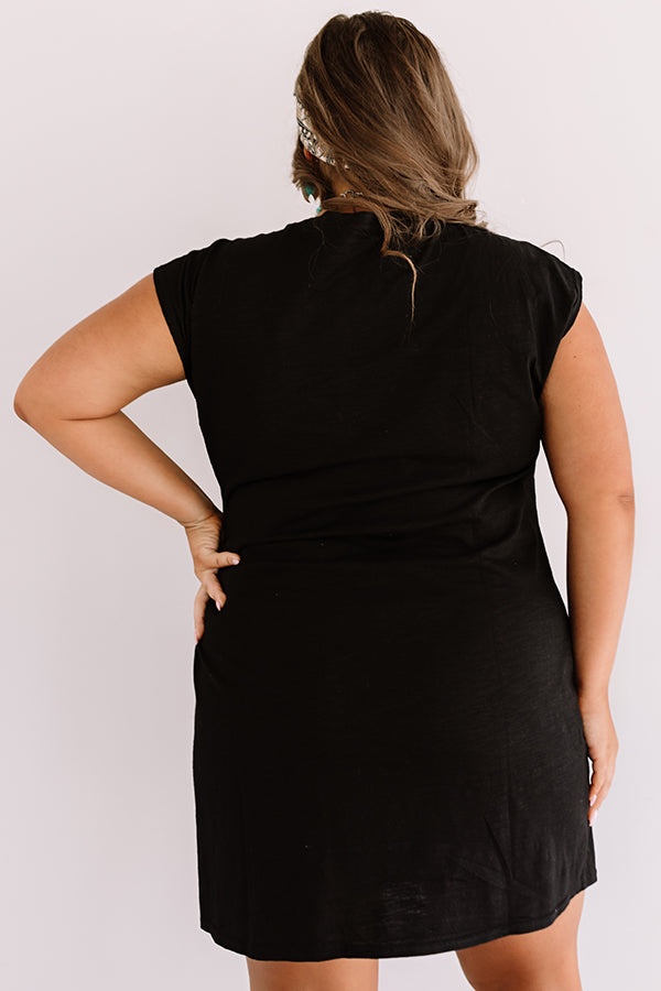 Social Hour Dress In Black