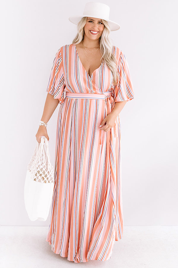 Lane To Paradise Wrap Maxi