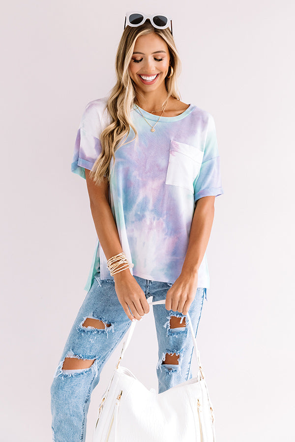 Constant Joy Tie Dye Shift Tee