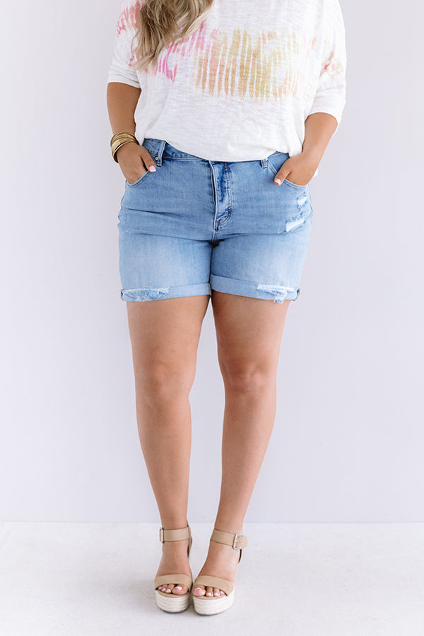 The Nadine Midrise Shorts
