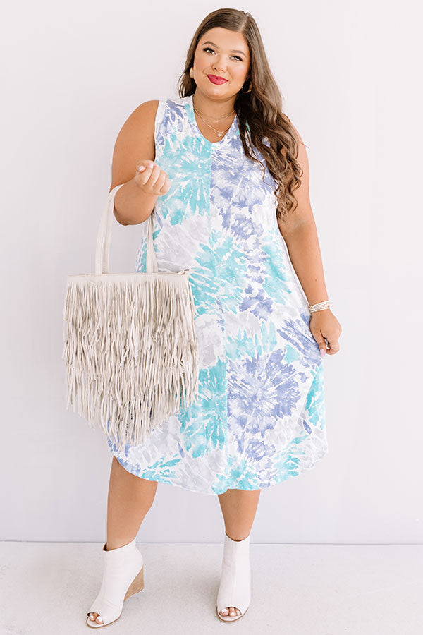 Beyond The Beach Tie Dye Midi