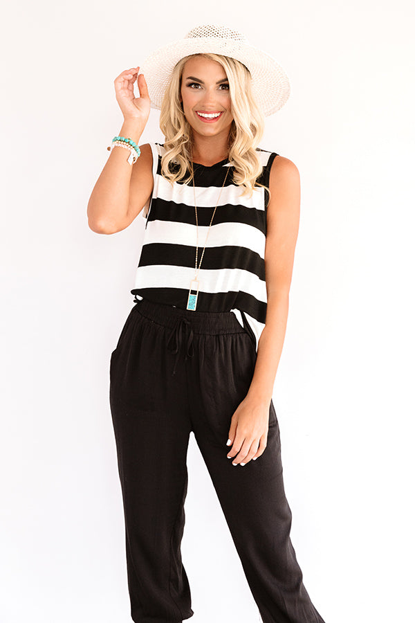 Carry A Smile Stripe Top
