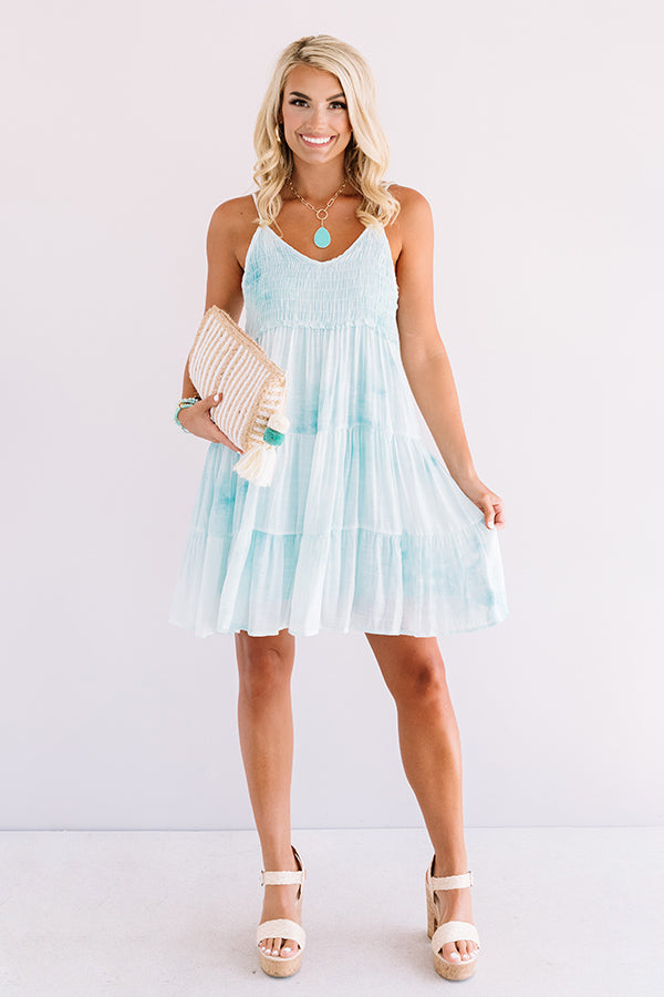 Ocean Skies Shift Dress