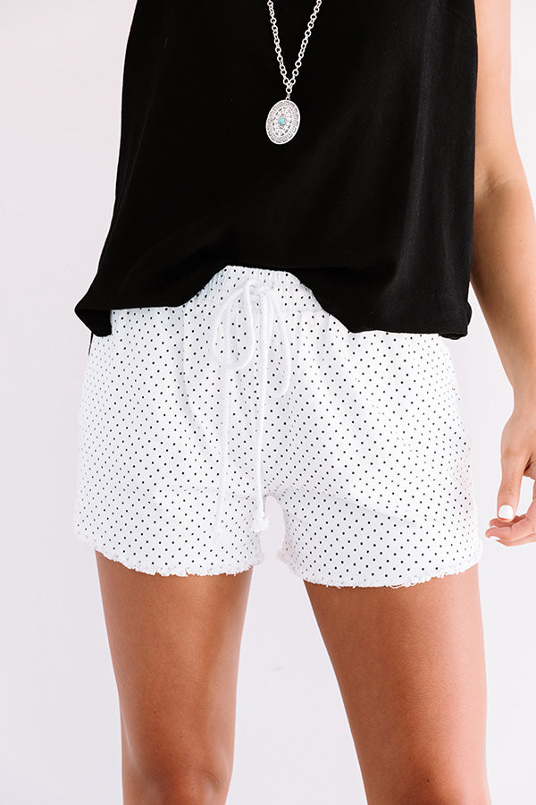 Summertime Polka Dot Shorts