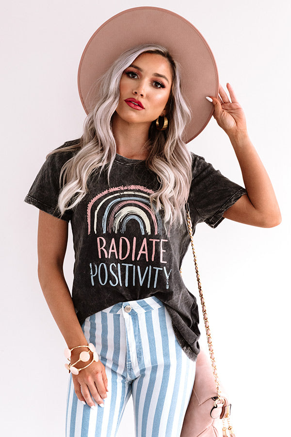 Radiate Positivity Shift Tee
