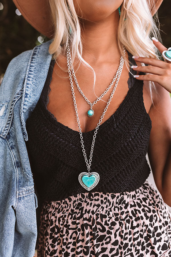 Devoted Love Turquoise Necklace