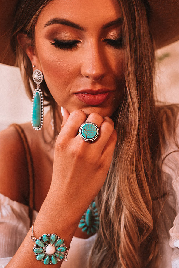 Beverly Hills Babe Turquoise Ring