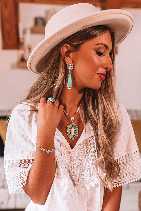 Naturally Beautiful Turquoise Earrings