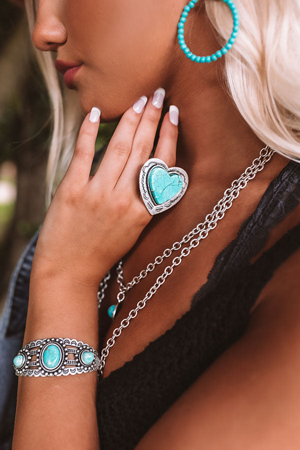 Devoted Love Turquoise Ring