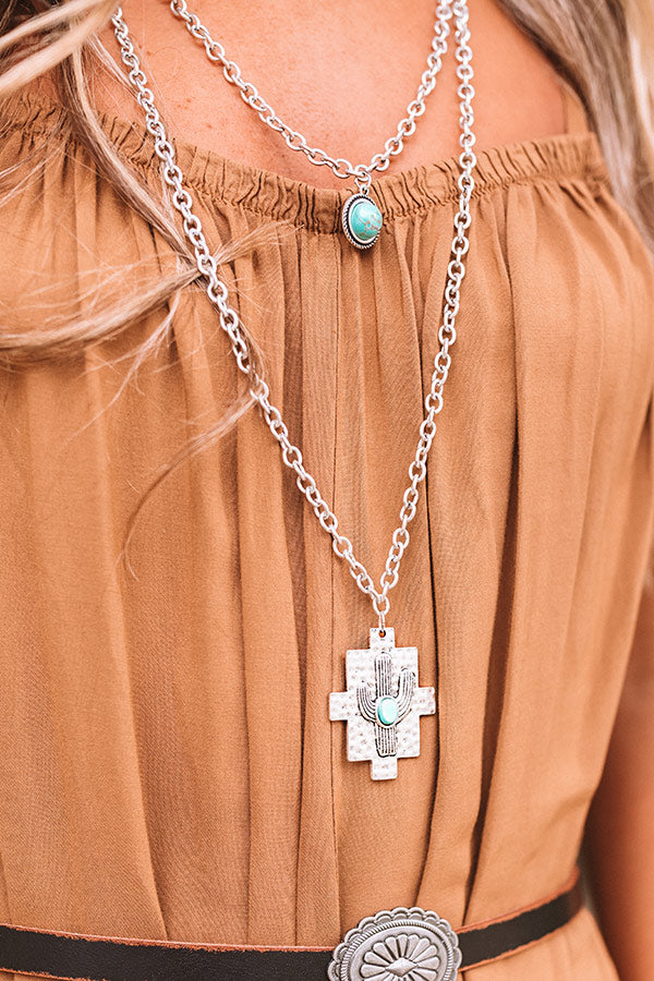 Desert Views Turquoise Necklace