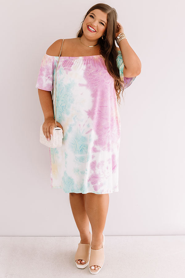 Happy For You Tie Dye Dress