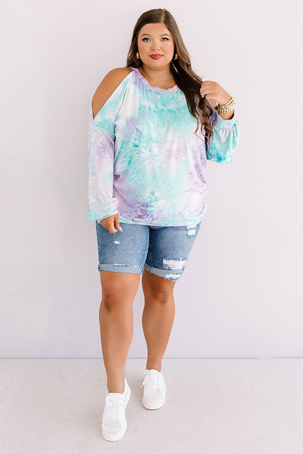 Hype Me Up Tie Dye Top