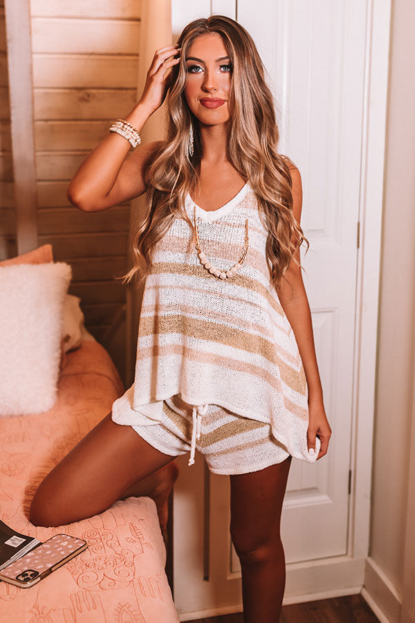 Lounging Luxe Knit Shift Tank