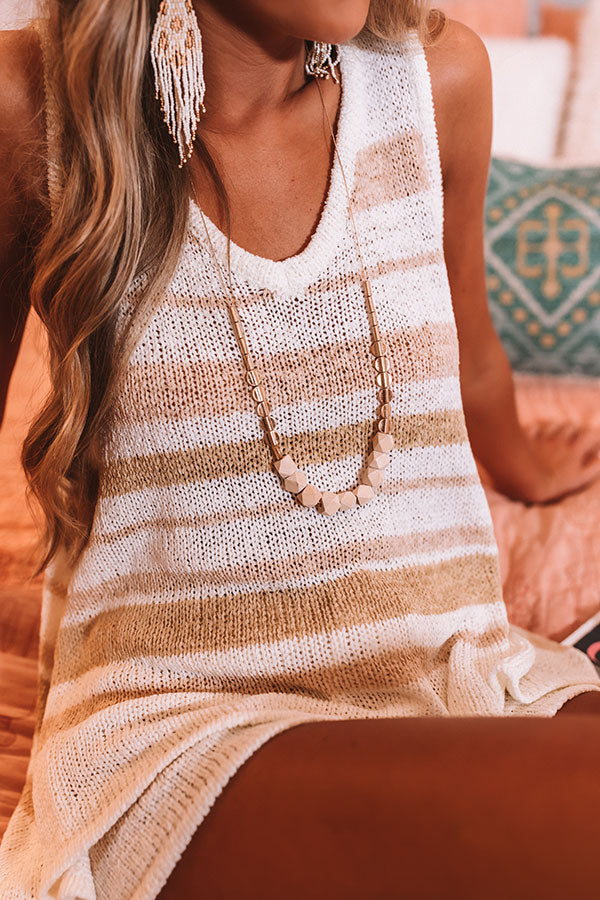 Nice To Sea You Necklace In Natural