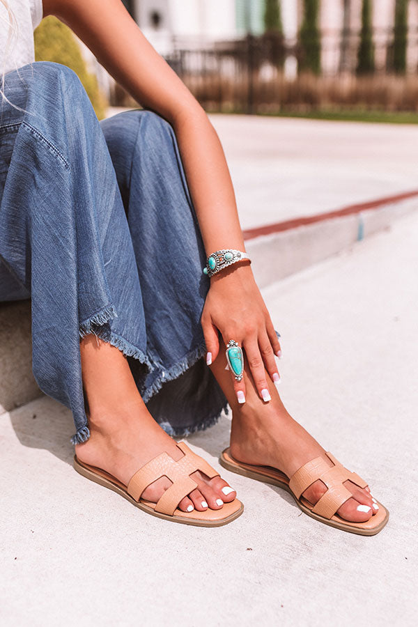 The Raylan Sandal In Tan