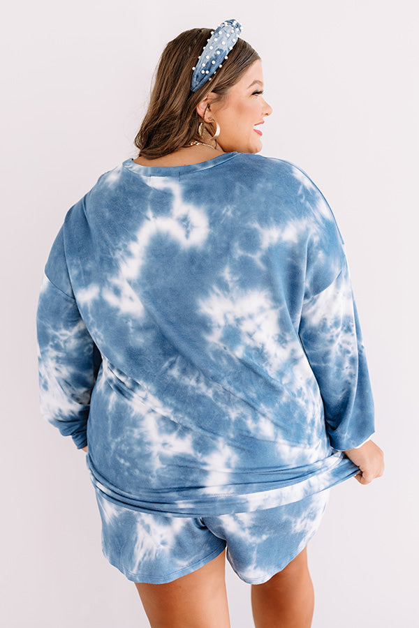Cozy Spot Tie Dye Shift Top